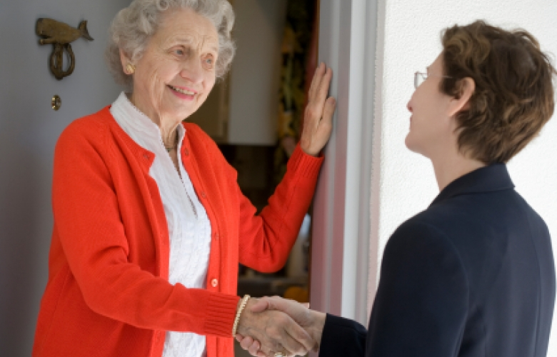 seniors living independently at home